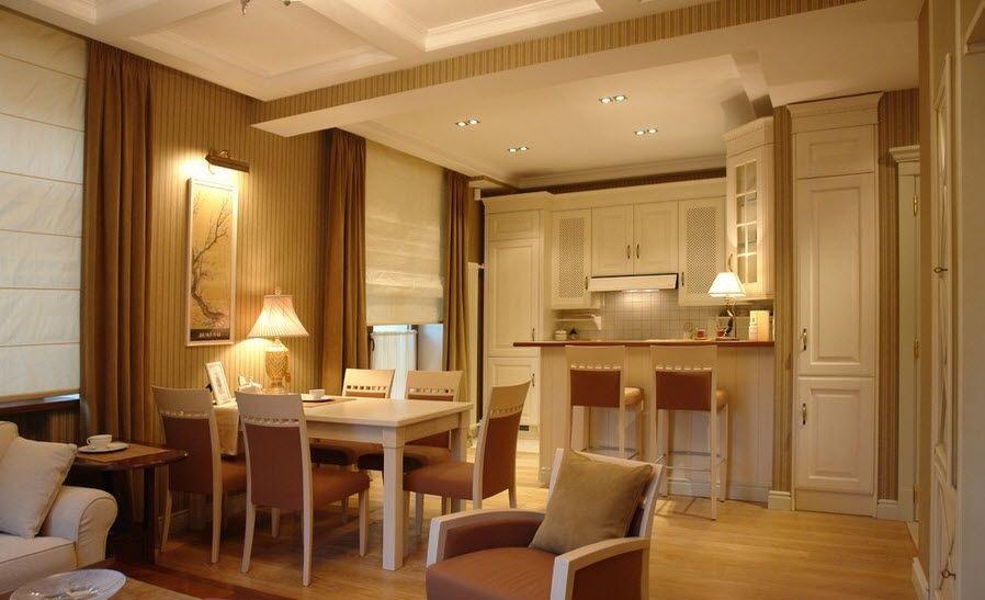 Свет в маленькой квартире