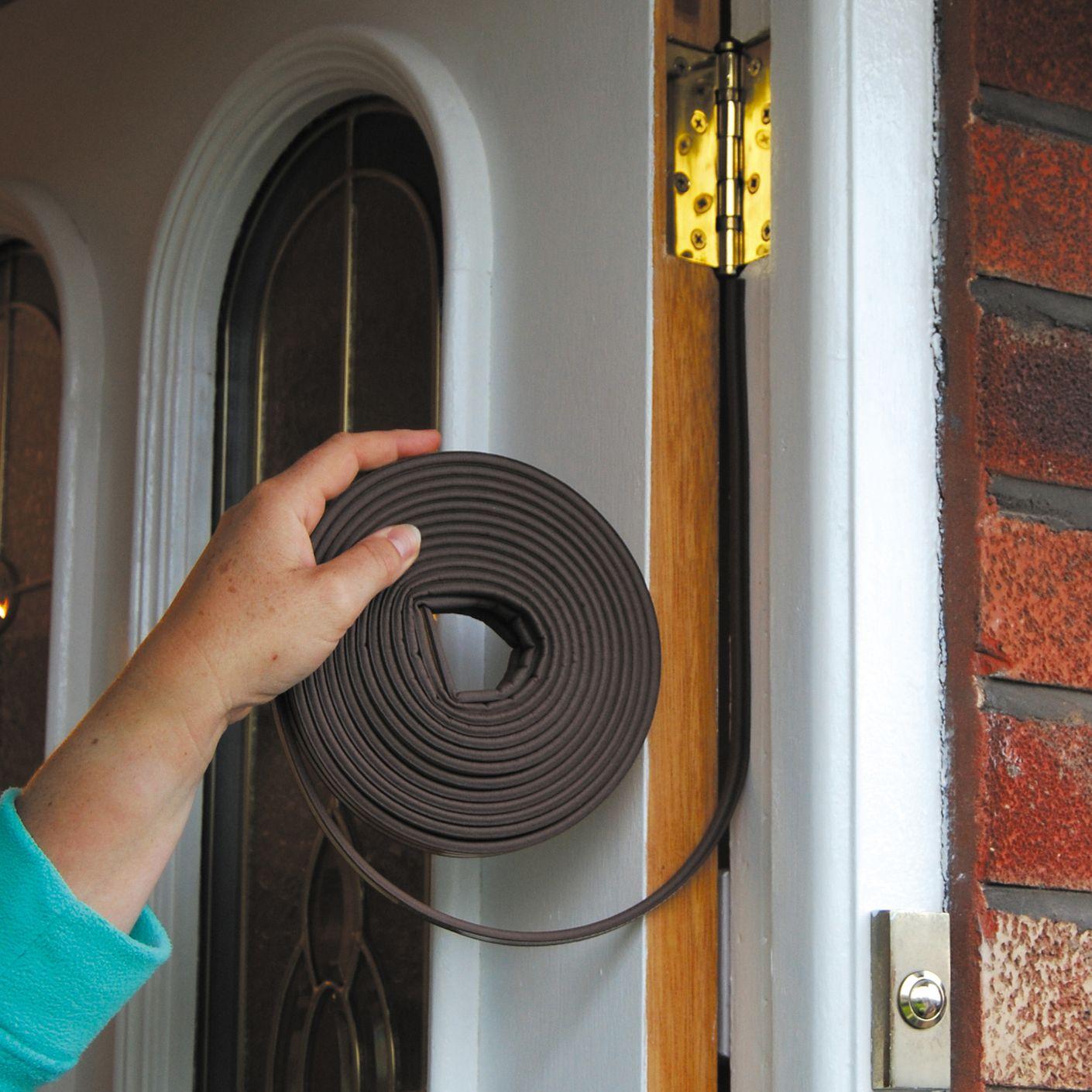 Уплотнитель для деревянной двери