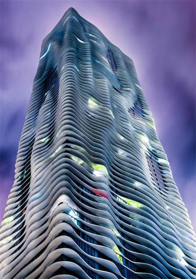 Водяной небоскреб