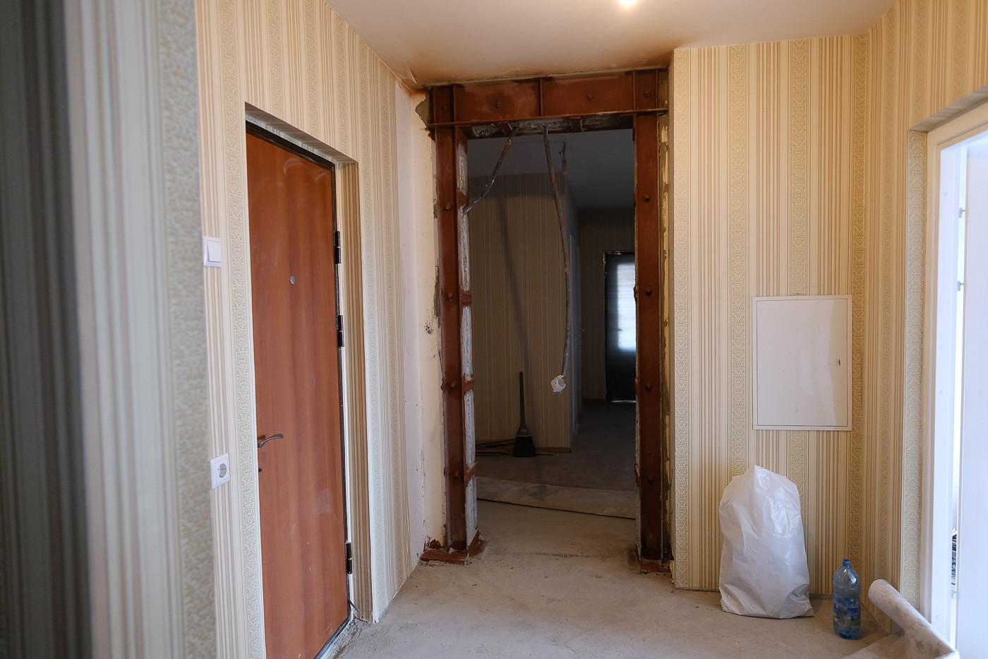 Дверной проем при перепланировке квартиры