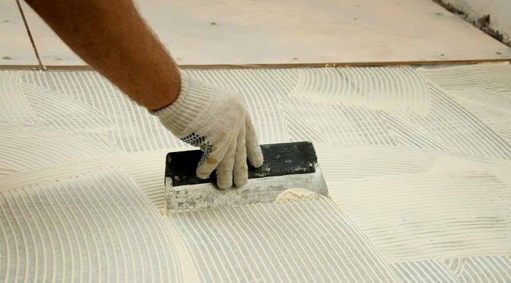 Клей для фанеры на бетонном полу