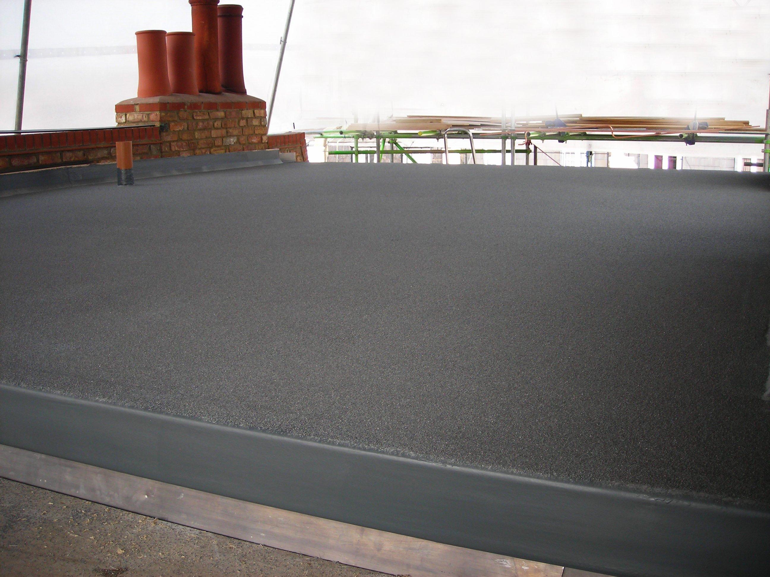 Крыша, покрытая рубемастом