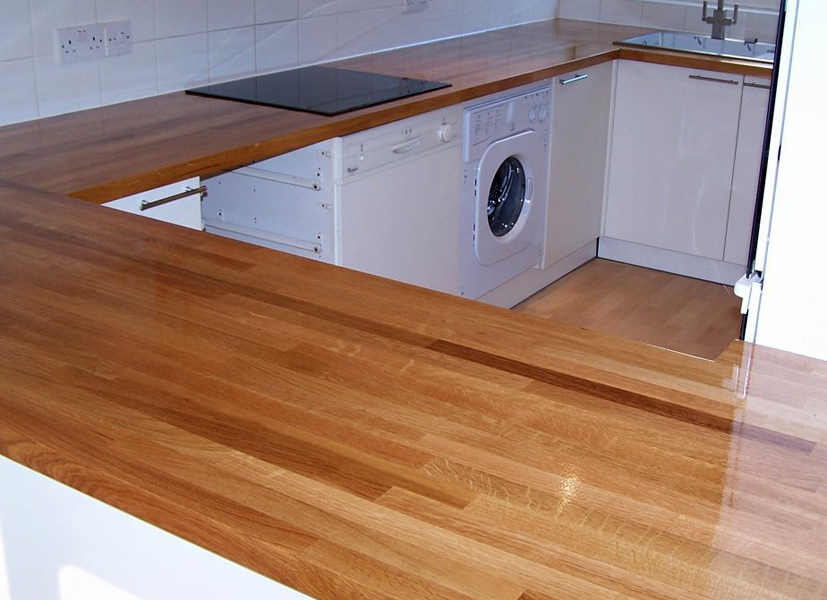 Кухонная столешница из дерева