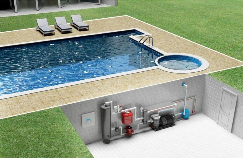 Нагрев бассейна тепловым насосом
