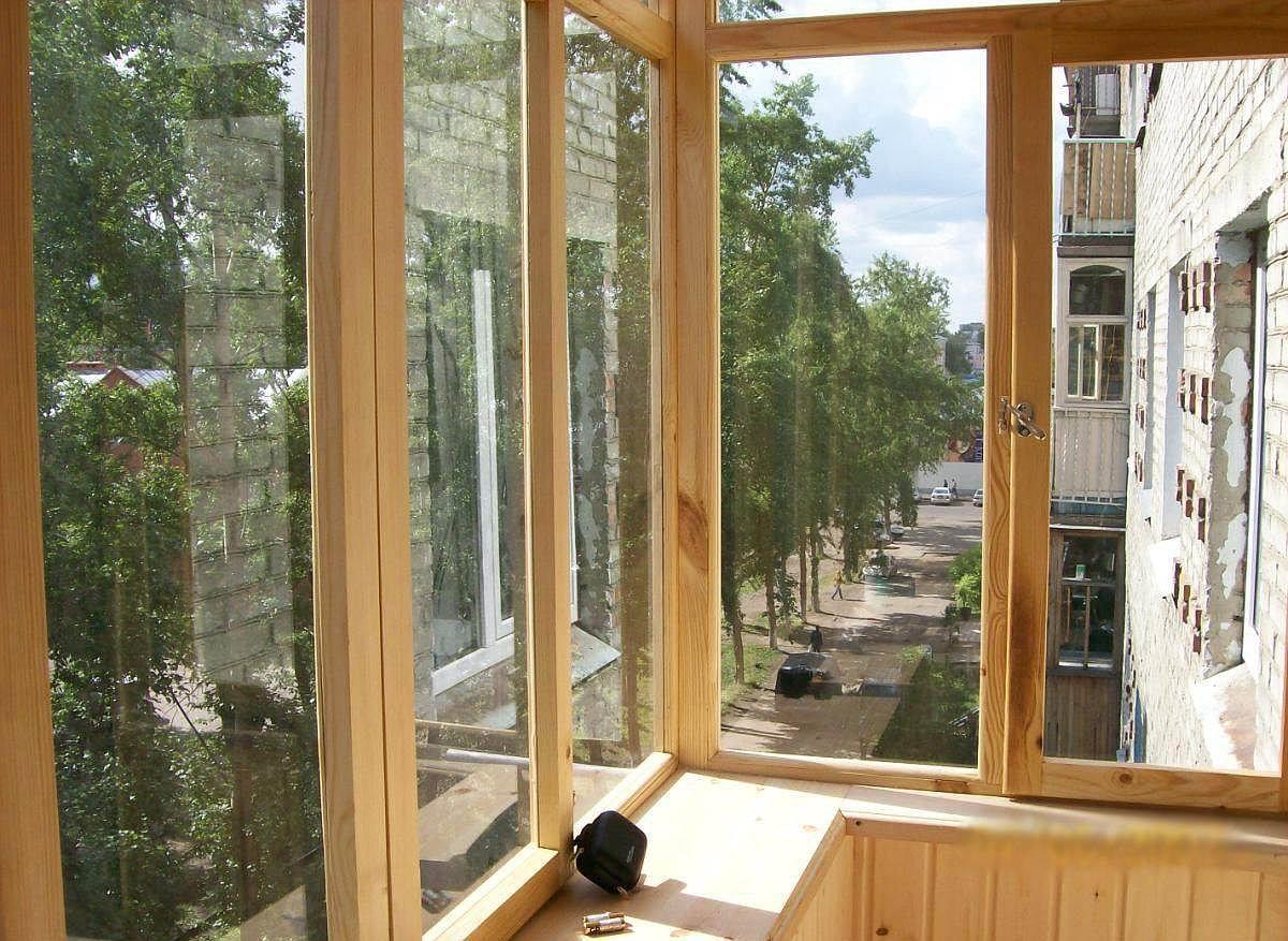 Окно, утепленное по шведской технологии