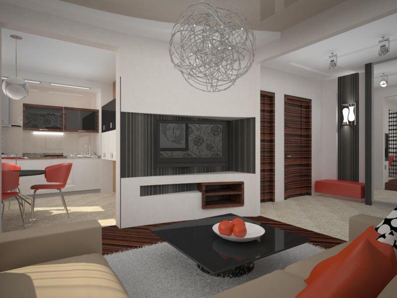 Перепланированная квартира в панельном доме