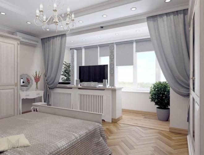 Совмещение лоджии с комнатой