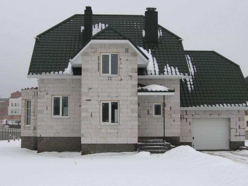 Утепление дома из газосиликатных блоков