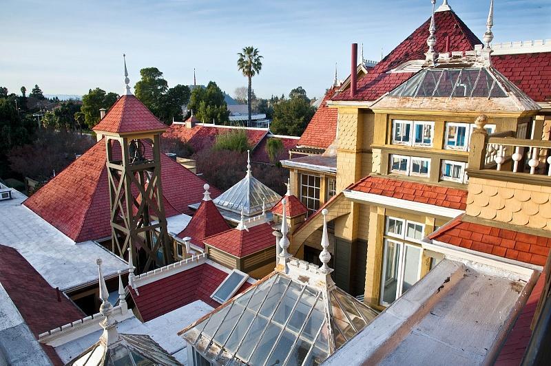 Вид с окна из дома Винчестеров