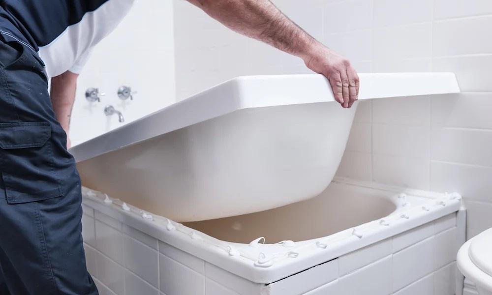 Акриловый вкладыш для ванны