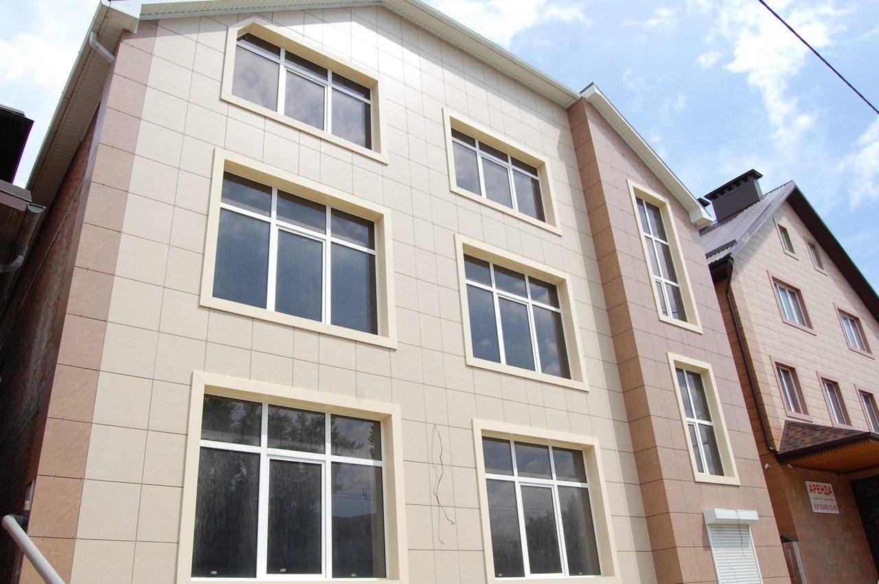 Вентилируемый фасад из керамогранита