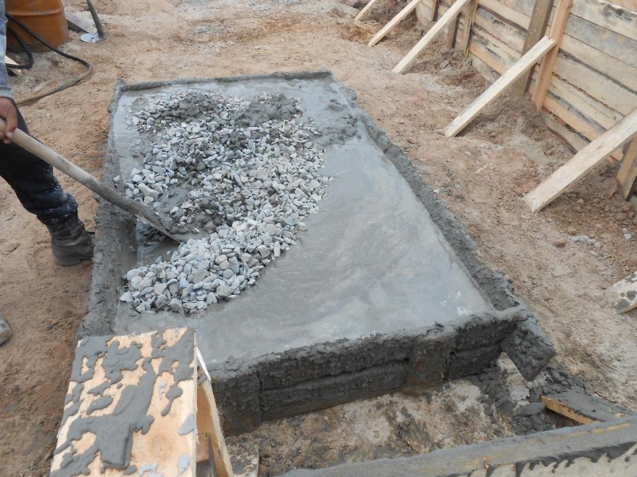 как замесить бетон в домашних условиях