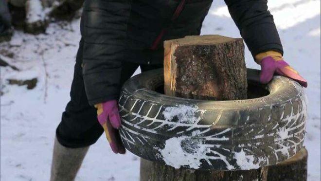 Советы для быстрой колки дров