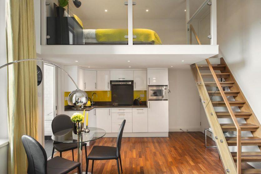 планировка жилья в виде студии
