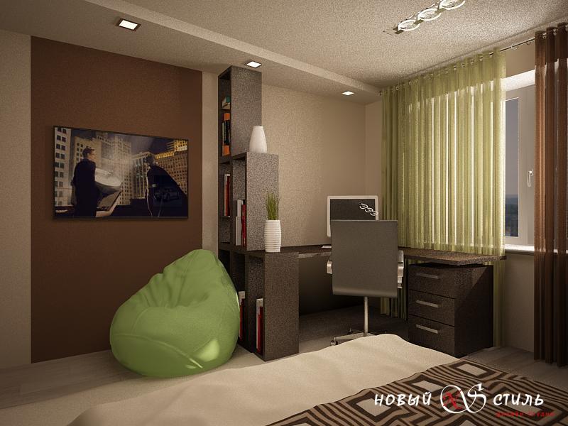 В каком стиле выбрать обои для мужской комнаты?