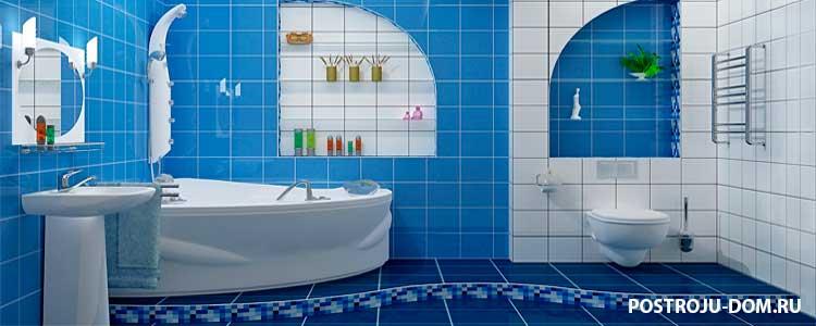влагостойкий гипсокартон в ванной под плитку