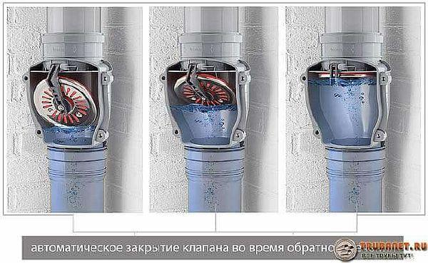 Вакуумный клапан для канализации - назначение, типы, где и как ставится