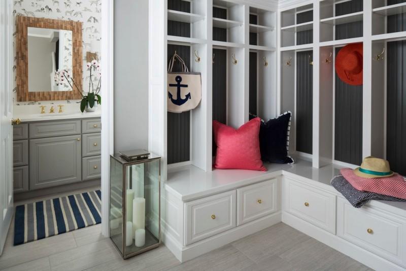 Угловой шкаф (78 фото): платяной узкий в комнату для одежды с полками и со штангой