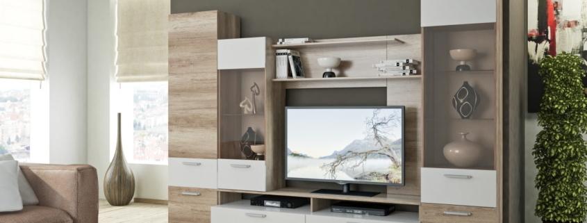 Стенка горка в гостиную - 105 фото лучших идей украшений и современных проектов