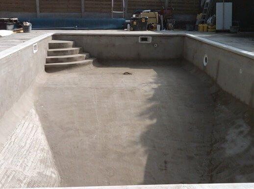 Строительство бассейна из бетона своими руками — воплощенная мечта на 100 лет