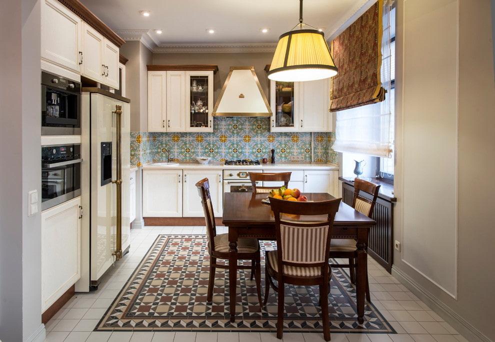 Кухня-гостиная в классическом стиле (64 фото): дизайн совмещенной кухни в стилях классика и неоклассика