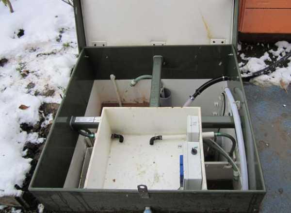 Консервация на зиму септика топас