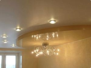 Расстояние между точечными светильниками в натяжном потолке: как правильно расположить светильники комнате, примеры схем расположения