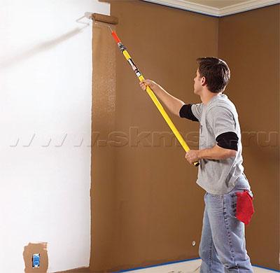 Какой краской красить стены в квартире: обзор видов