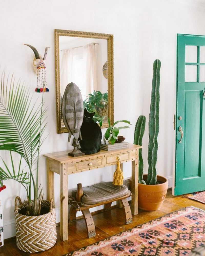 дизайн коридора в квартире в современном стиле