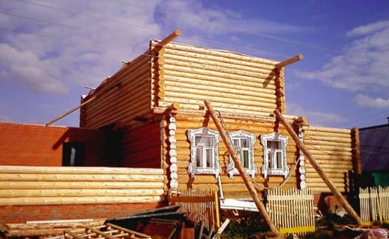 Ремонт частных загородных деревянных домов и дач в московской области.