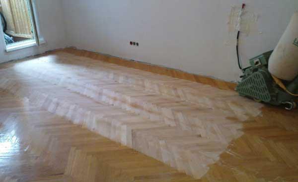 Циклевка деревянного пола своими руками: порядок работ