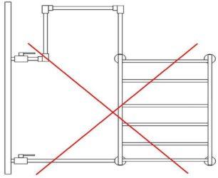 Что делать и кто виноват, когда течет полотенцесушитель в месте соединения после отключения горячей воды?
