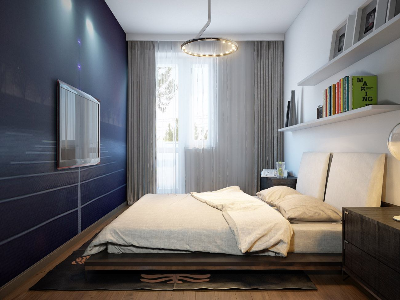 Как расставить мебель в маленькой комнате? 10 лайфхаков