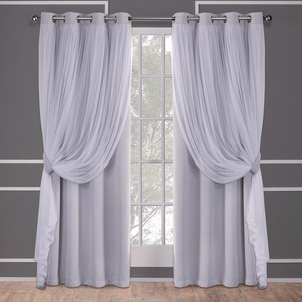 шторы в зал серого цвета фото