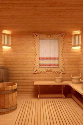 Дизайн бани с комнатой отдыха внутри, идеи для бани своими руками, отделка парилки внутри