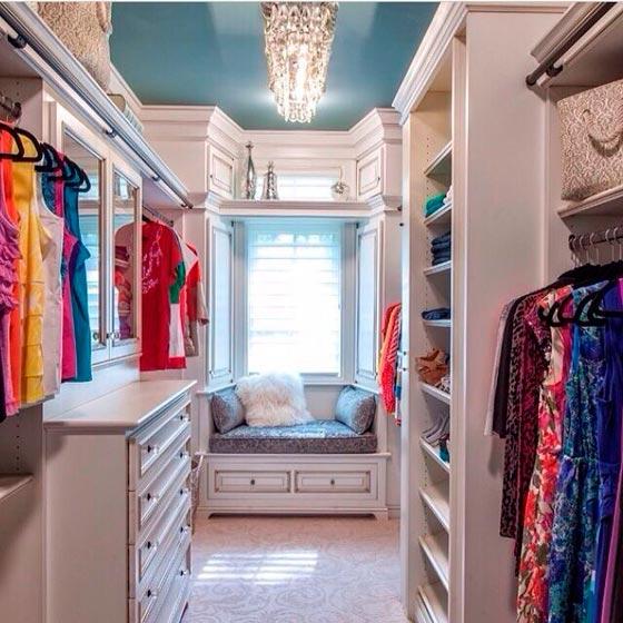 Гардеробная комната - фото 60 дизайн-проектов гардеробных