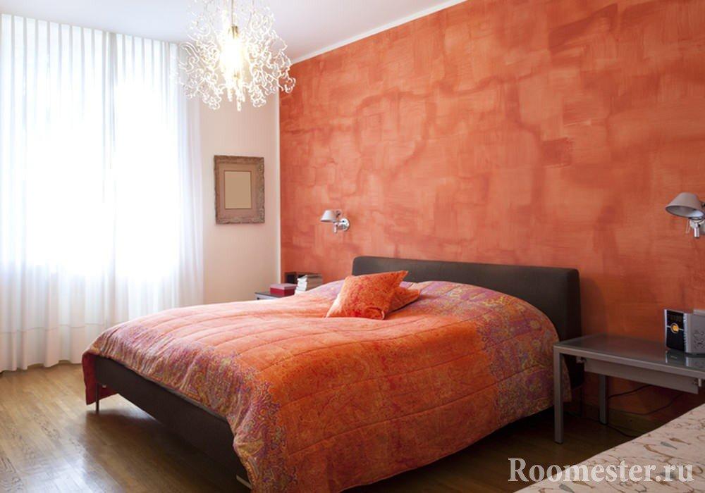 оранжевая комната