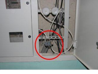 разводка антенного кабеля