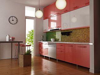 Прямая кухня 4 метра: материалы, стили и дизайн