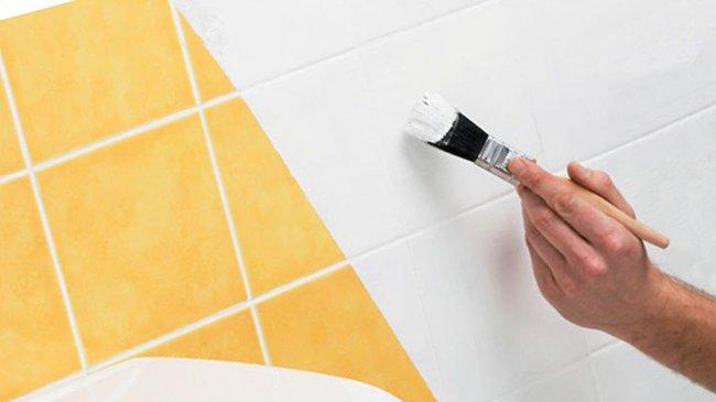 Как покрасить плитку на кухне - всё о керамической плитке