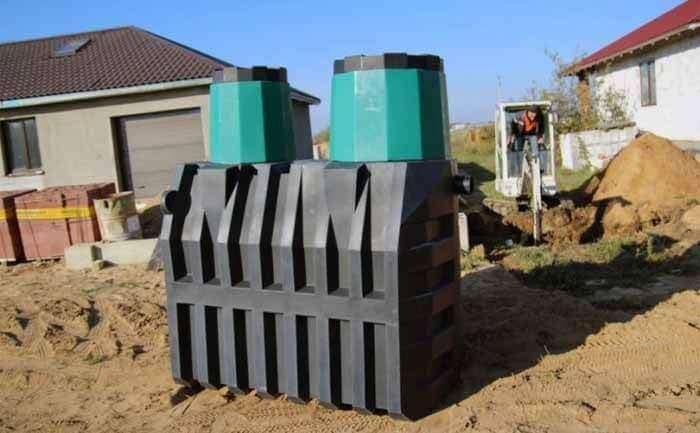 Как сделать очистные сооружения для частного дома?