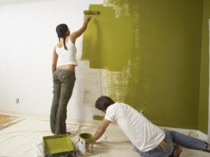 этапы подготовки стен под покраску