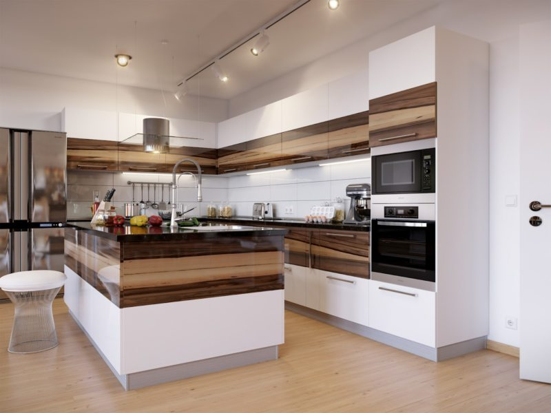кухни красивые и модные