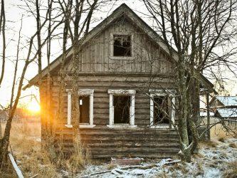 дома в деревне недорого