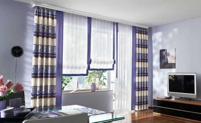 Гардины для штор - как выбрать в спальню, кухню и гостиную?