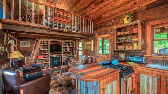 Дачные домики: виды и красивые примеры
