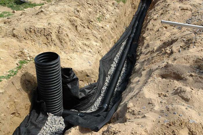 Какую трубу выбрать для дренажа, цена труб для отвода грунтовых вод, виды, материал