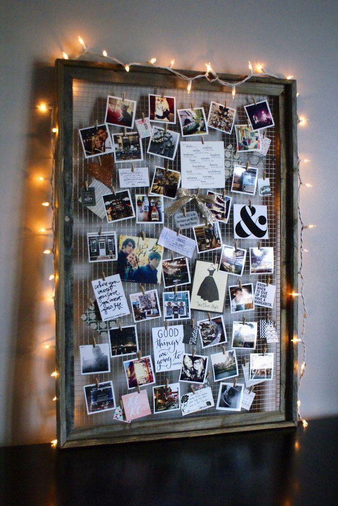 Фоторамки в интерьере — 50 фото идей