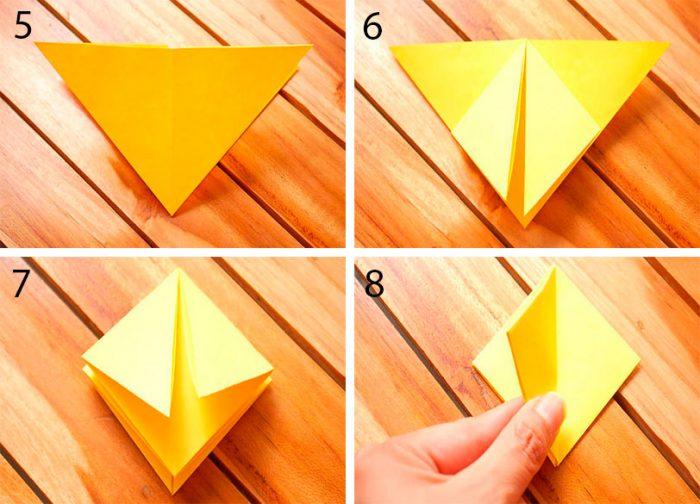 Оригами из бумаги для начинающих: 10 легких схем, пошаговые фото и видео