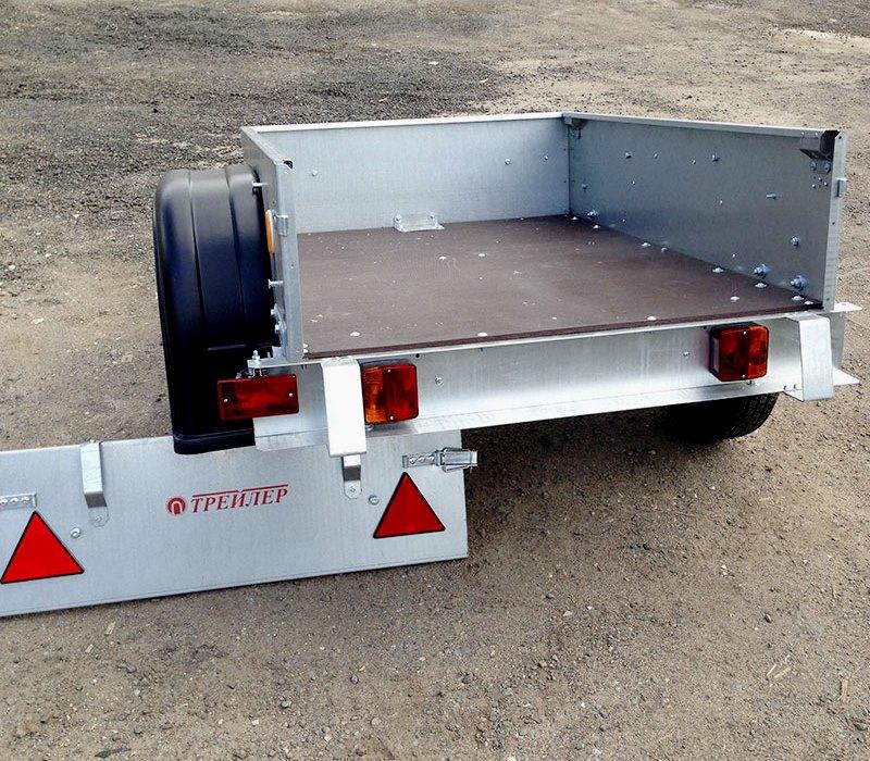 Обзор легковых прицепов для перевозки грузов во время строительства дома